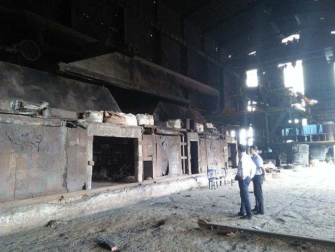 Khảo sát tại Công ty Thép Việt Nhật